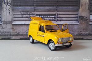 Renault R4 F4 La Poste Ebbro by Sebastian Motsch