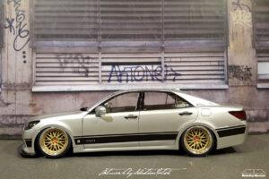 Toyota Crown Royal Saloon Hybrid Aoshima by Sebastian Motsch