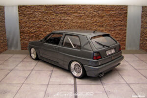 Volkswagen Golf Mk2 Rallye ScaleProduction by Sebastian Motsch