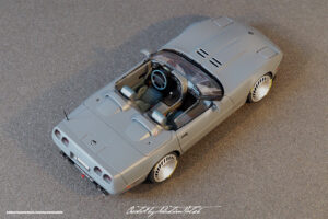Chevrolet Corvette C4 Spyder Scale Model by Sebastian Motsch