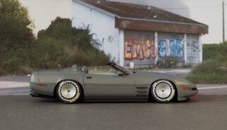 Chevrolet Corvette C4 Spyder Scale Model by Sebastian Motsch