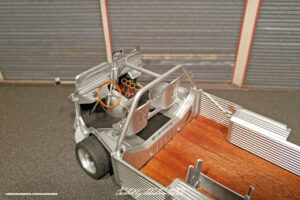 Citroen HY Beach Rod Scale Model by Sebastian Motsch