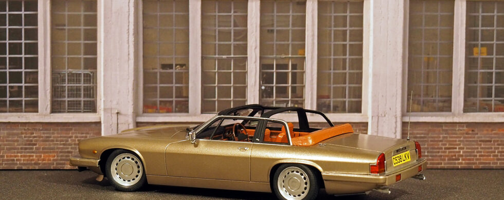 Jaguar XJS-C Scale Model by Sebastian Motsch