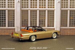 Jaguar XJS-C Scale Model by Sebastian Motsch