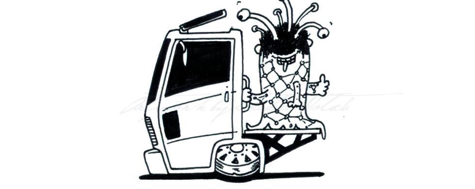 Monster Trucks Coloring Book Artwork by Sebastian Motsch 020