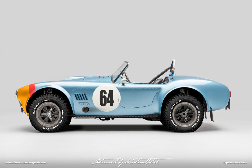 Shelby Cobra 289 FIA Competition Roadster Artwork by Sebastian Motsch