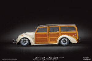 Volkswagen Beetle Woody Custom Photoshop by Sebastian Motsch