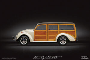 Volkswagen Beetle Woody Photoshop by Sebastian Motsch