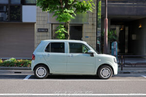 Japan Tokyo Daihatsu Mira Tocot by Sebastian Motsch
