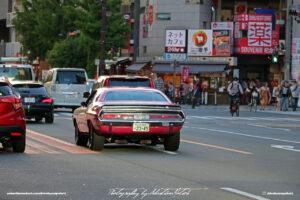 Japan Tokyo Akihabara Dodge Challenger TA by Sebastian Motsch