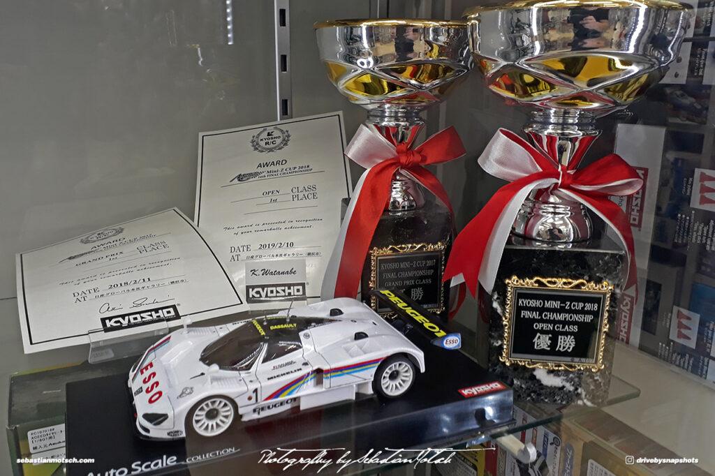 Japan Tokyo Akihabara Motherhouse RC Track Mini-Z Trophy by Sebastian Motsch