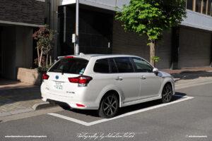 Japan Tokyo Toyota Corolla Fielder Hybrid by Sebastian Motsch