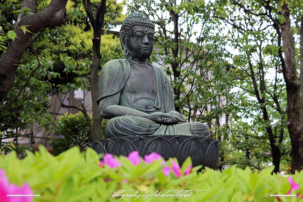 Japan Tokyo Asakusa Temple Buddha Statue by Sebastian Motsch