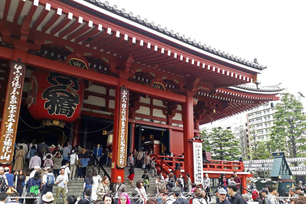 Japan Tokyo Asakusa Temple by Sebastian Motsch