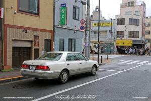 Japan Tokyo Asakusa Toyota Crown Royal Soloon by Sebastian Motsch