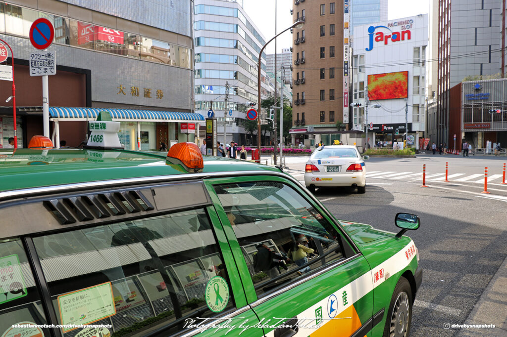 Japan Tokyo Gotanda JDM Taxi Details by Sebastian Motsch