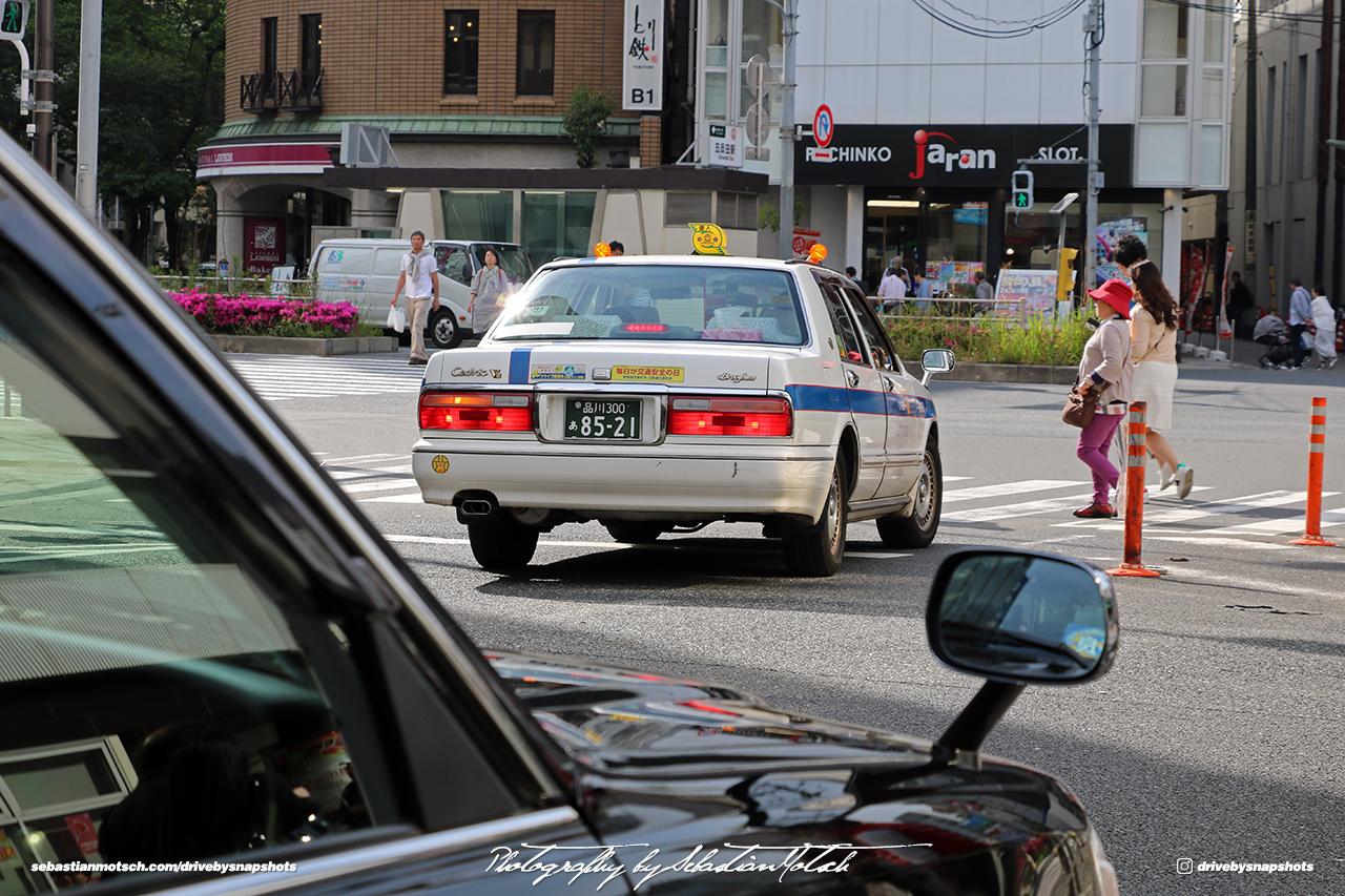 Japan Tokyo Gotanda Nissan Cedric Brougham JDM Taxi by Sebastian Motsch