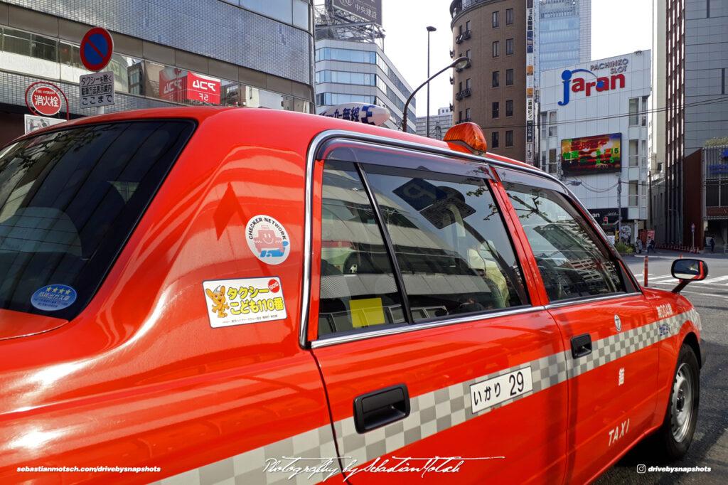 Japan Tokyo Gotanda Toyota Crown Comfort JDM Taxi Details II by Sebastian Motsch