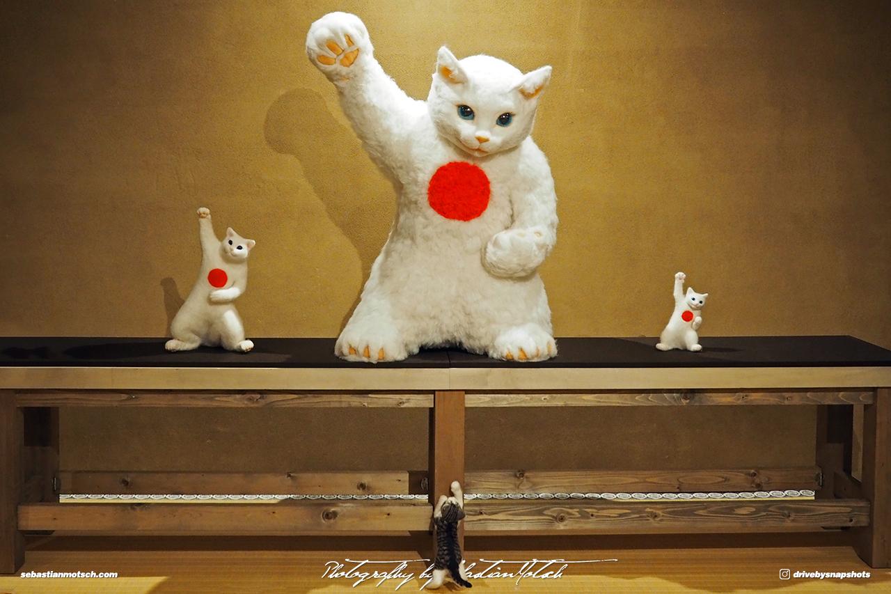 Japan Tokyo Meguro Cat Art Exhibition at Hotel Gajoen by Sebastian Motsch 01