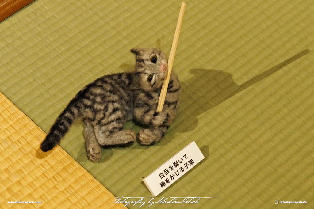 Japan Tokyo Meguro Cat Art Exhibition at Hotel Gajoen by Sebastian Motsch 04