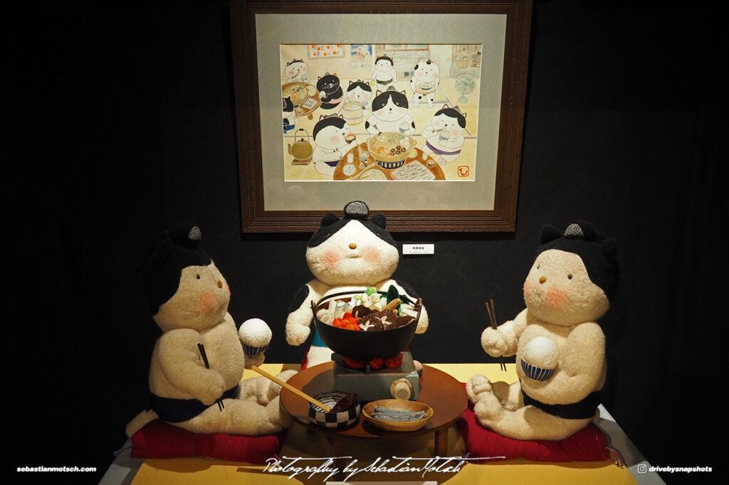 Japan Tokyo Meguro Cat Art Exhibition at Hotel Gajoen by Sebastian Motsch 08