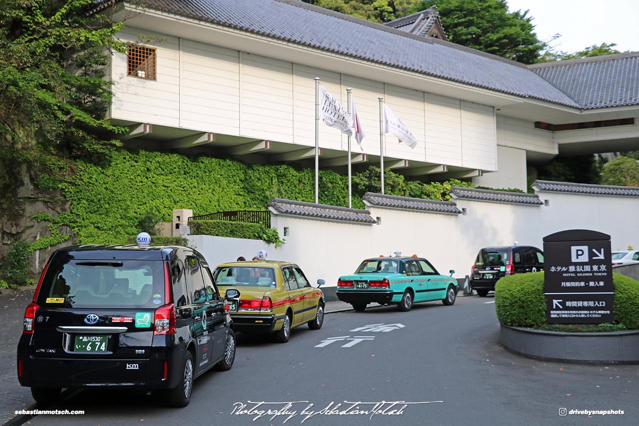 Japan Tokyo Meguro Hotel Gajoen Driveway by Sebastian Motsch