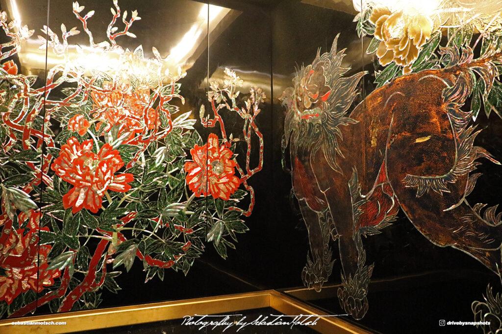 Japan Tokyo Meguro Hotel Gajoen Elevator by Sebastian Motsch 02