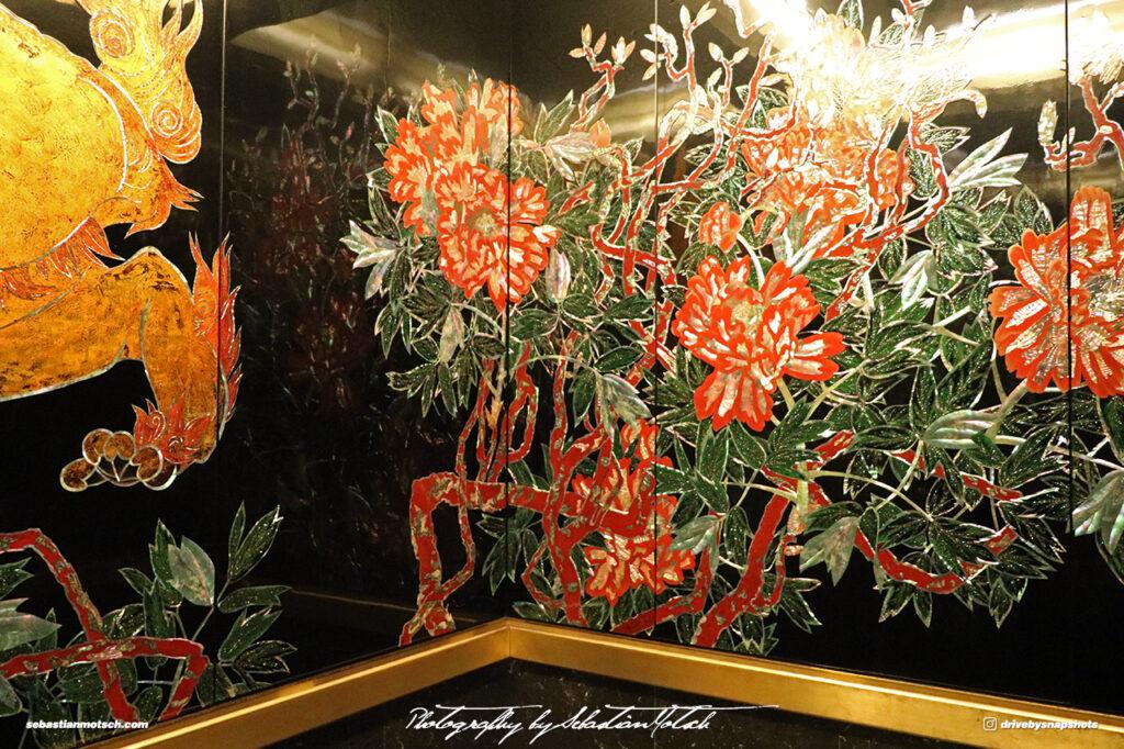 Japan Tokyo Meguro Hotel Gajoen Elevator by Sebastian Motsch 03