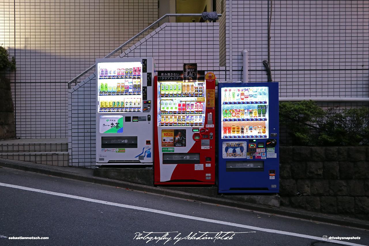 Japan Tokyo Meguro Vending Machines by Sebastian Motsch