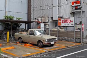 Japan Tokyo Minato Nissan Sunny Pickup by Sebastian Motsch