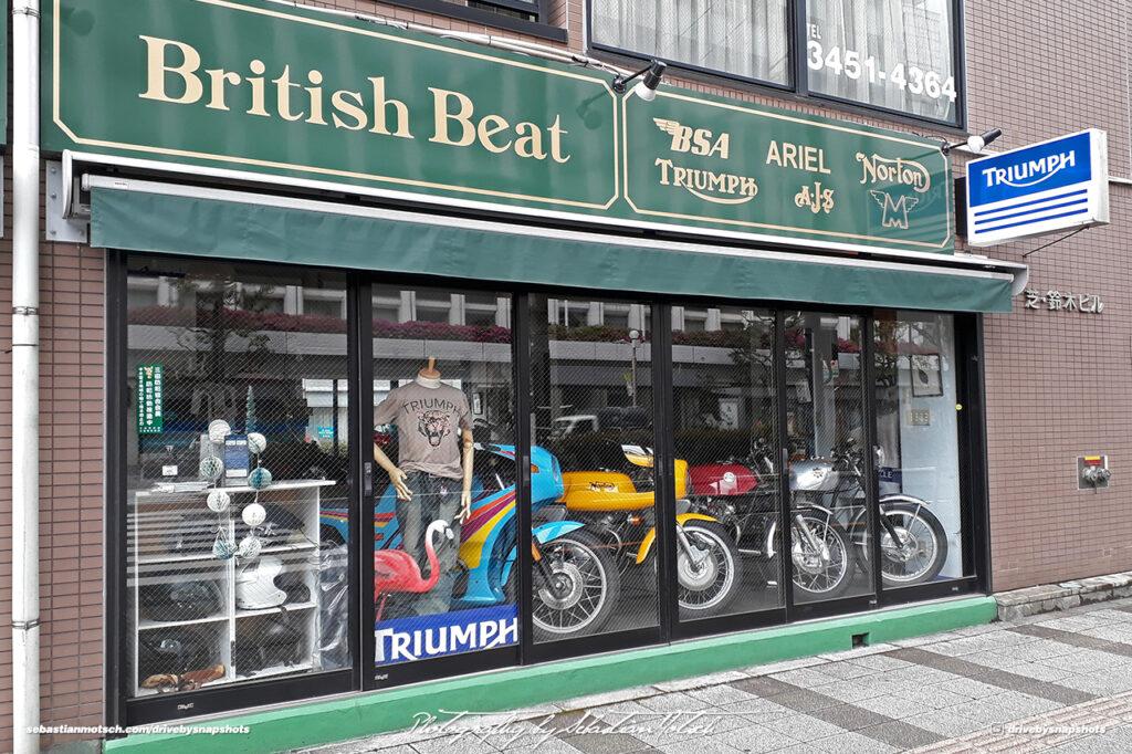 Japan Tokyo Shiba British Beat Motorcycles by Sebastian Motsch