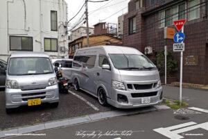 Japan Tokyo Shiba Daihatsu and Nissan Vans by Sebastian Motsch