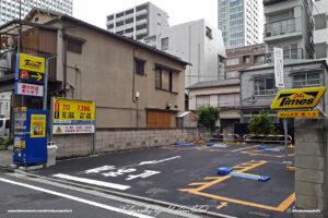 Japan Tokyo Shiba Times Parking Lot by Sebastian Motsch
