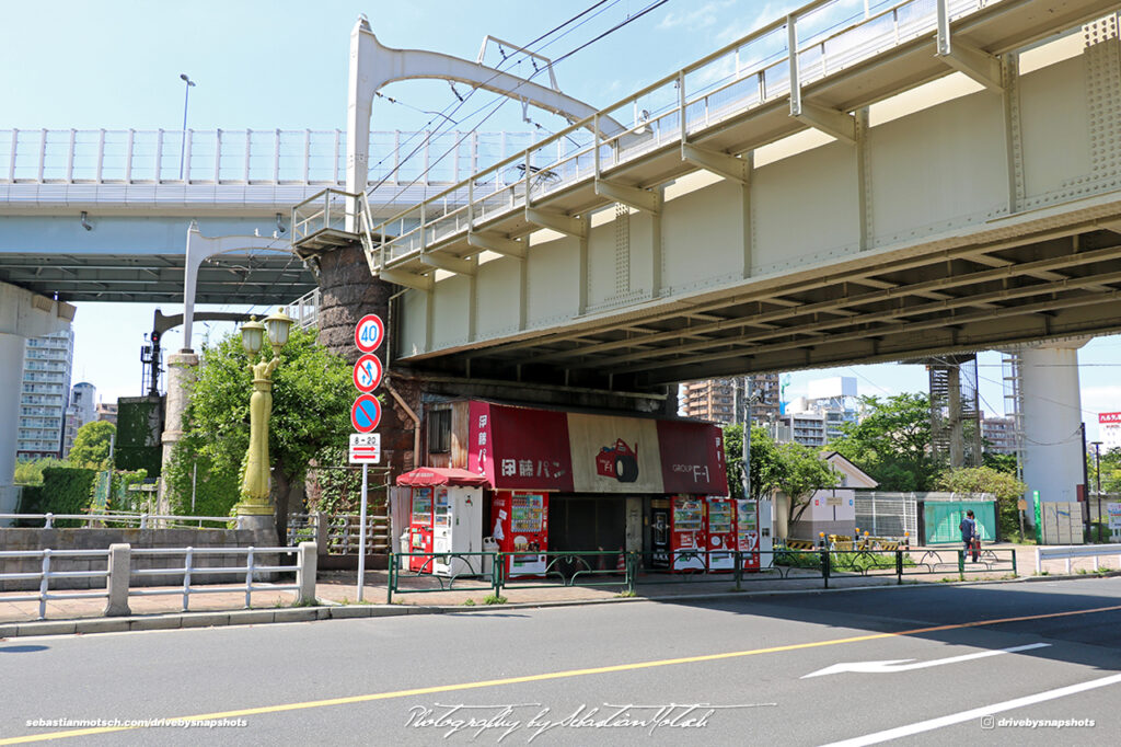 Japan Tokyo Sky Tree Formula1 Kiosk by Sebastian Motsch