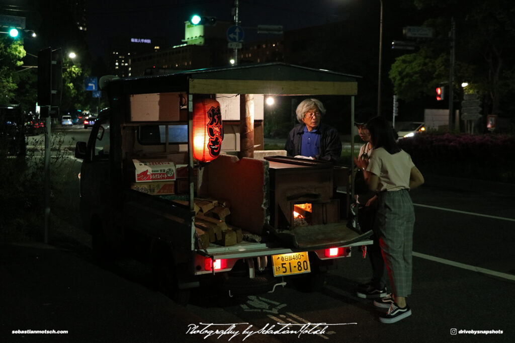 Japan Tokyo Tower Minato Kei Food Truck by Sebastian Motsch