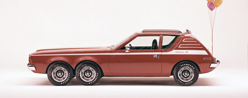 AMC Gremlin X 6-Wheeler Photoshop by Sebastian Motsch