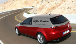 Alfa Romeo 159 ti Furgone Servizio Photoshop by Sebastian Motsch