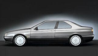 Alfa Romeo 164 Coupé Photoshop by Sebastian Motsch