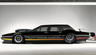 Aston Martin Lagonda Dragster Photoshop by Sebastian Motsch