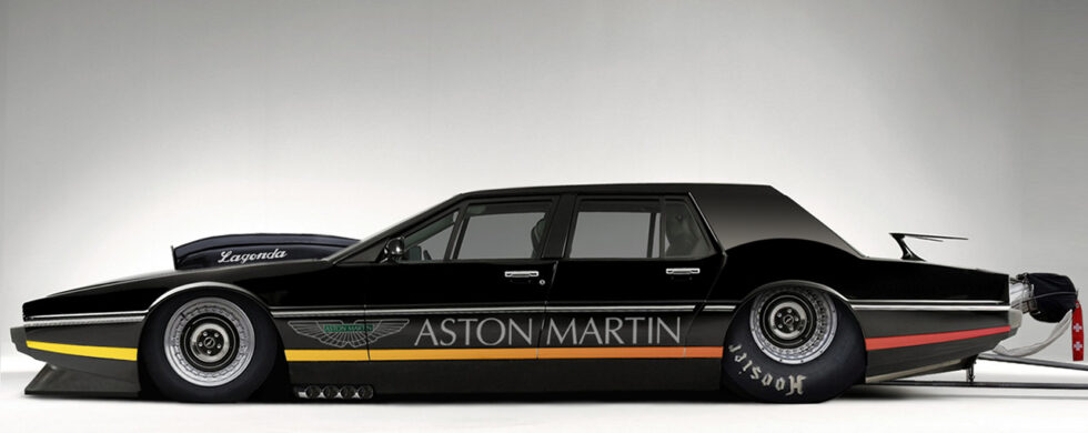 Aston Martin Lagonda Dragster Photoshop by Sebastian Motsch