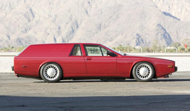 Aston Martin Lagonda Panel Van Photoshop by Sebastian Motsch