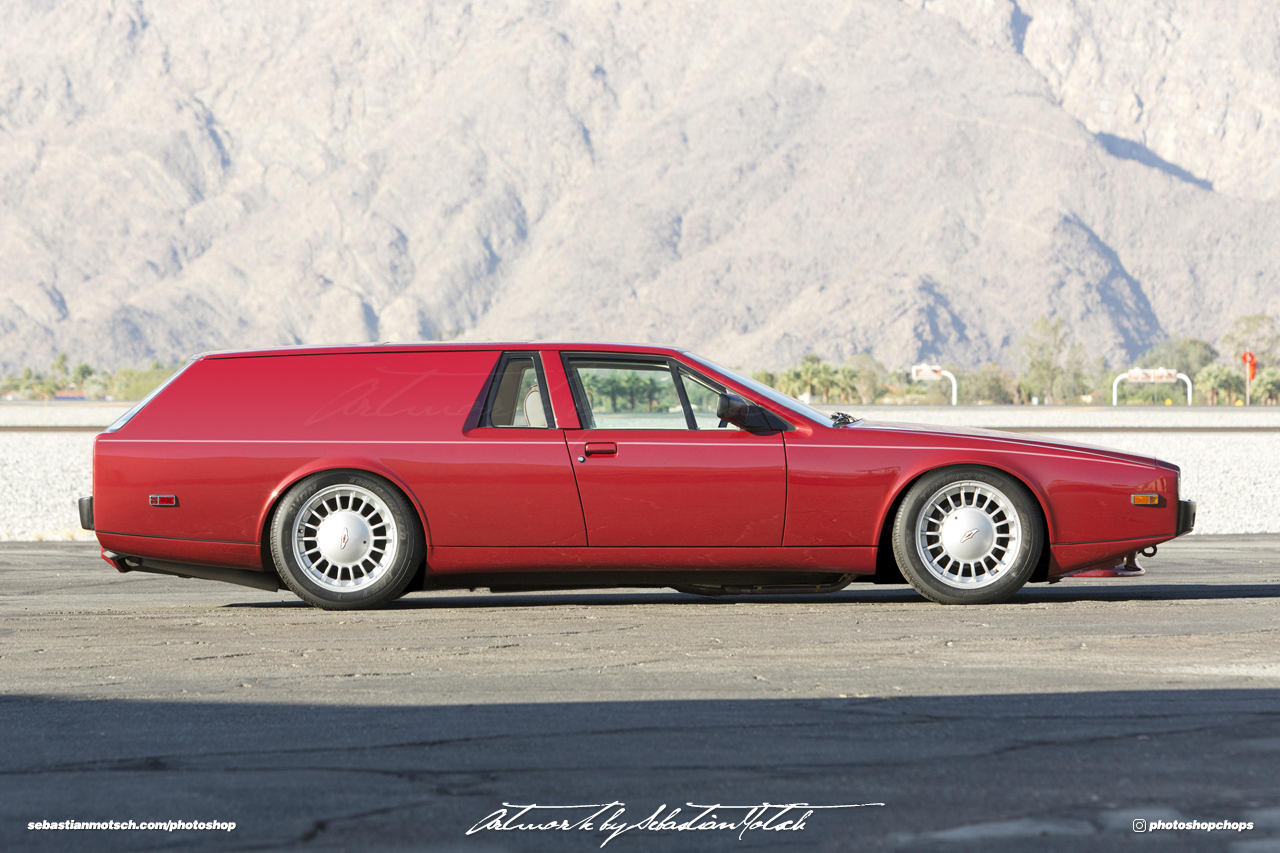 Aston Martin Lagonda Panel Van Photoshop by Sebastian Motsch