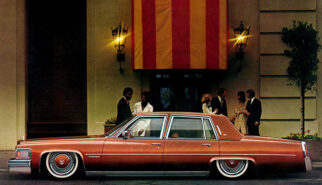Cadillac Fleetwood Brougham Photoshop by Sebastian Motsch