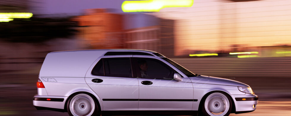 SAAB 9-5 SuperWagon Photoshop by Sebastian Motsch
