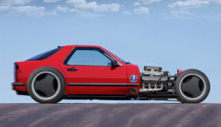 SAAB 9000 CSE Hot Rod Concept Photoshop by Sebastian Motsch