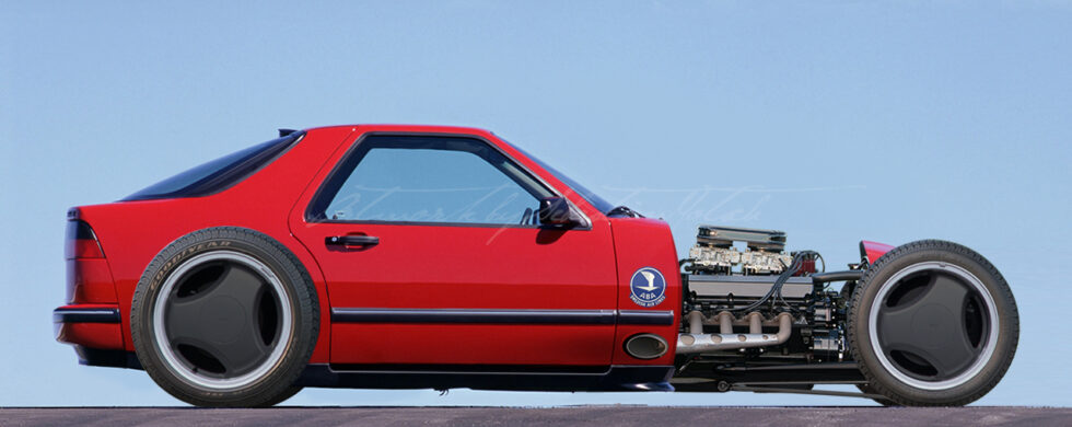 SAAB 9000 CSE Hot Rod Concept Photoshop by Sebastian Motsch