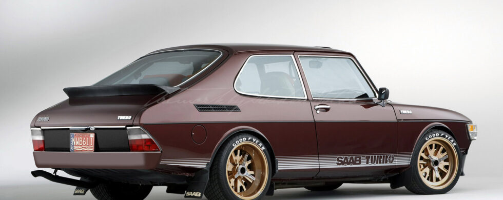 SAAB 99 Turbo Photoshop by Sebastian Motsch