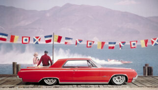 Oldsmobile Jetstar 1 Sport Coupe Photoshop by Sebastian Motsch