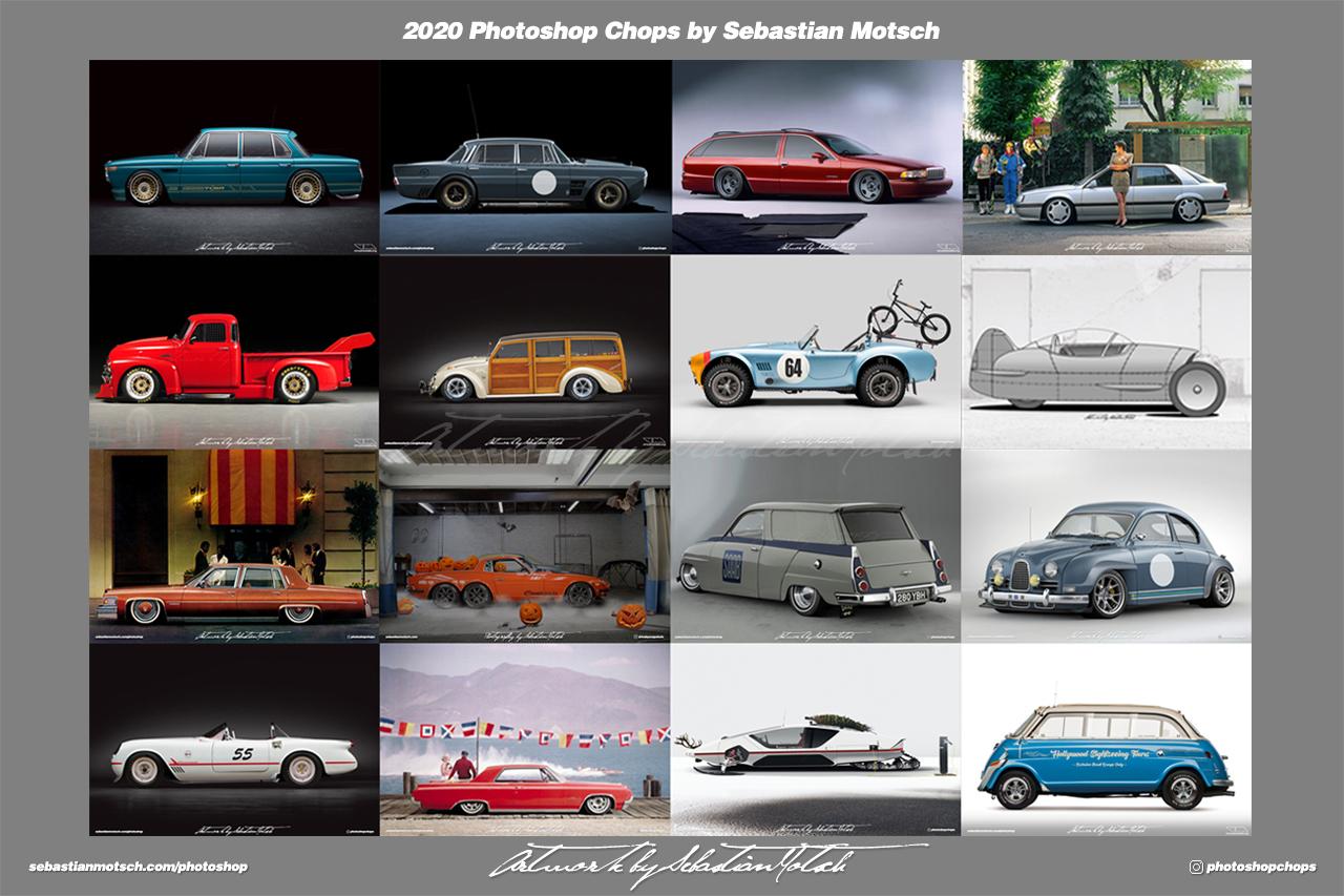 2020 Photoshop Chops by Sebastian Motsch