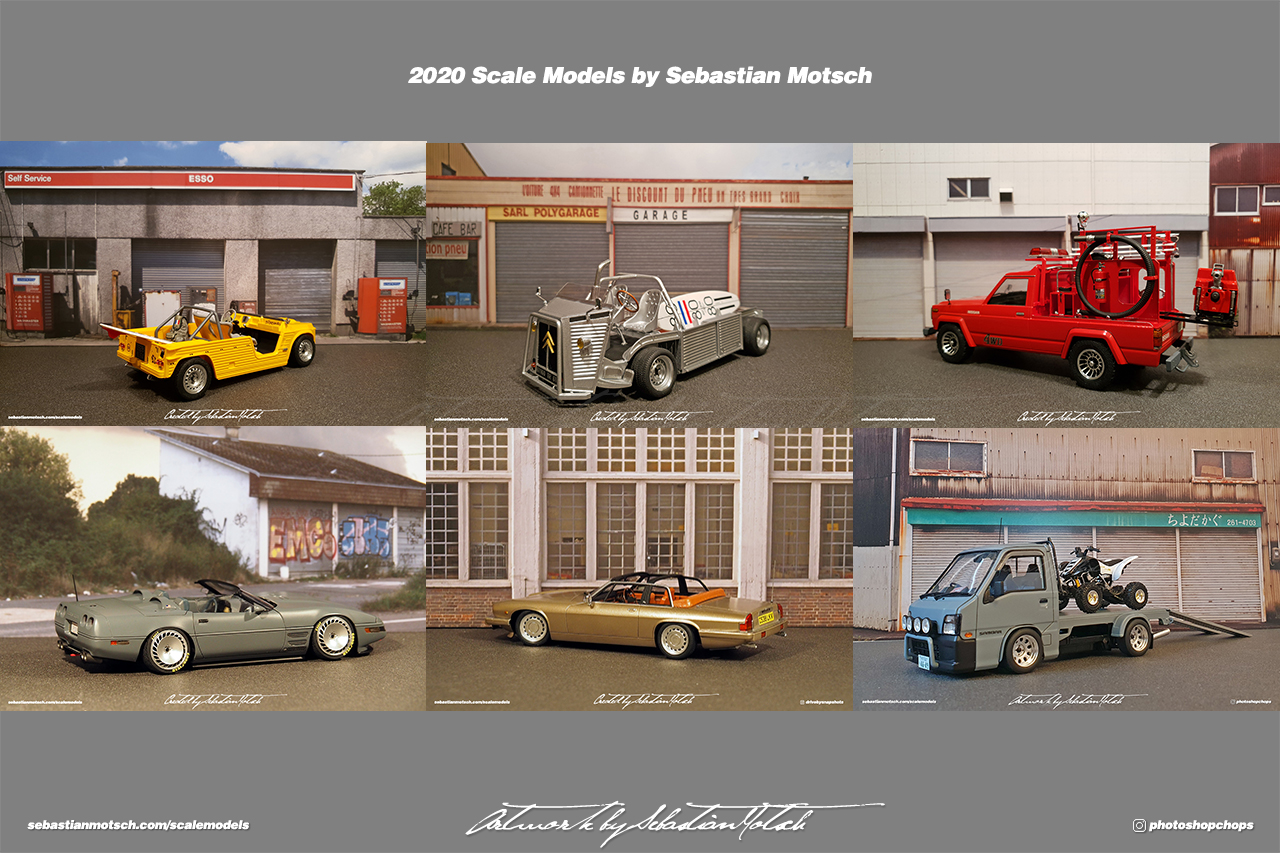 2020 Scale Models by Sebastian Motsch